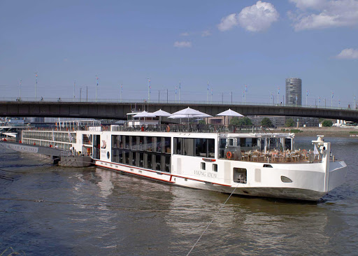 Viking-Idun-Cologne - The river cruise ship Viking Idun in Cologne, Germany.