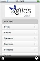 Screenshot of Agiles 2012