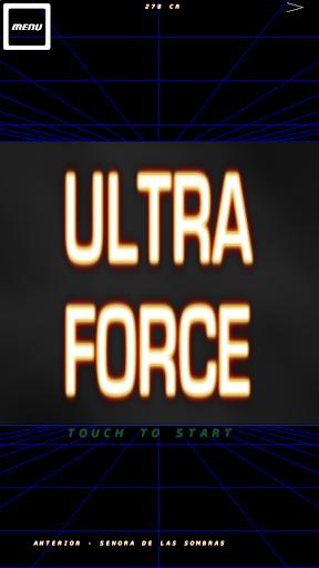 UltraForce bullet hell shooter
