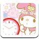 マイメロディ 時計ウィジェット(MM1)