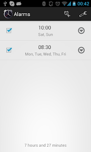 Simple Alarm Clock Free No Ads- screenshot thumbnail