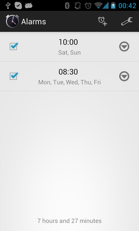 Simple Alarm Clock Free No Ads- screenshot