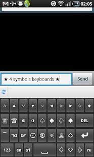 Symbols&Emoji Keyboard Lite- screenshot thumbnail