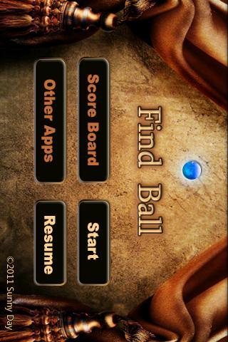 Find Ball- screenshot