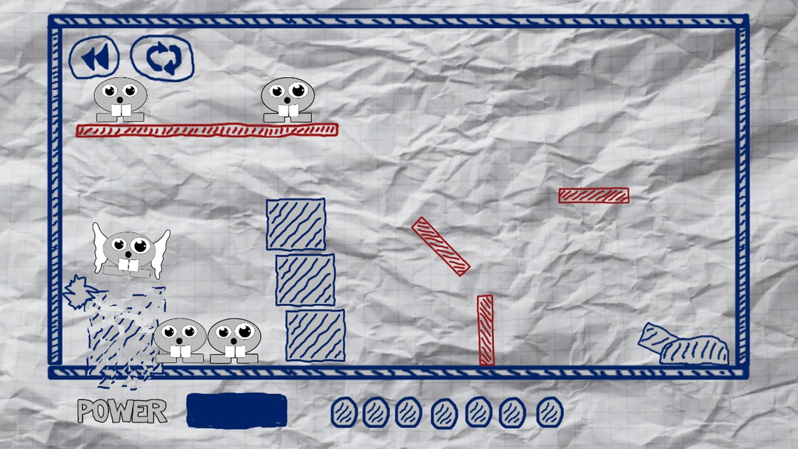 Paper Shooter- screenshot