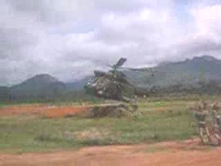Insane helicopter fly-by
