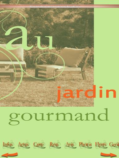 玩生活App|Au Jardin Gourmand免費|APP試玩