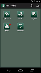 FB&T Mobile Banking - screenshot thumbnail