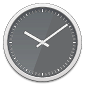 Glass clock widget -Me Clock