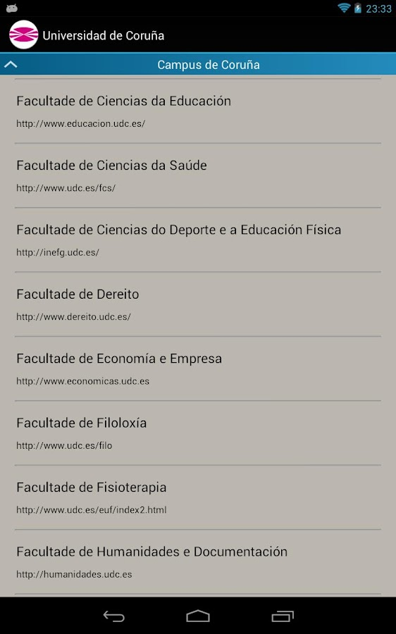 Guia UDC tablet- screenshot