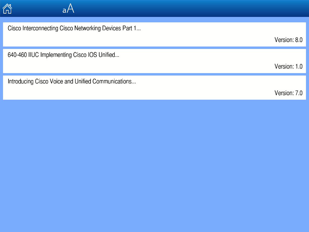 Microsoft MCSD Web App Exams - screenshot