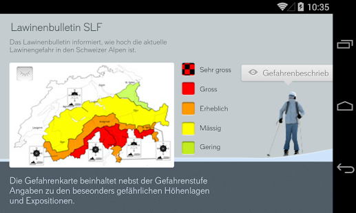 White Risk - SLF Lawinen-App – Miniaturansicht des Screenshots