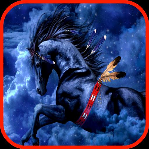 个人化の馬の壁紙 LOGO-記事Game