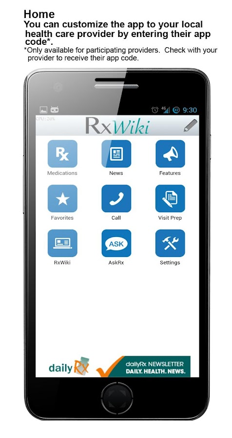 RxWiki- screenshot