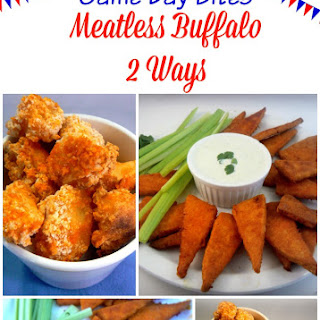 Game Day Bites – Meatless Buffalo 2 Ways