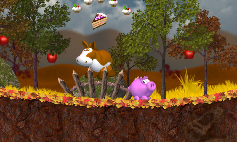 Piggly Xmas- screenshot