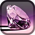 Purple Diamond Live Wallpaper icon