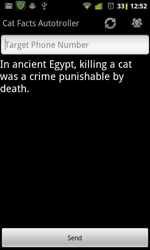 Catfacts Autotroller Beta - screenshot