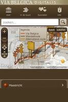 Screenshot of Via Belgica Digitalis