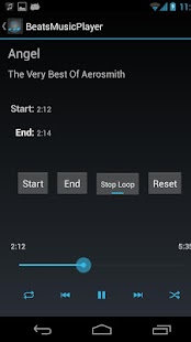 RokBeats Music Player- screenshot thumbnail