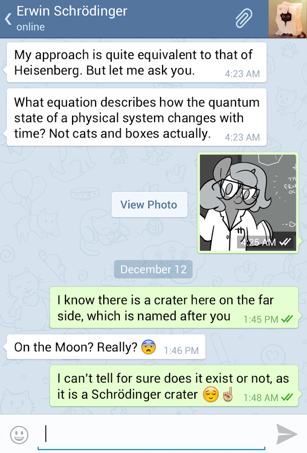 Telegram - screenshot