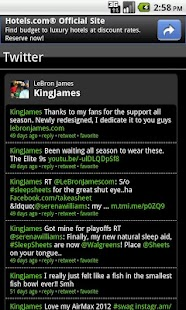 LeBron James Fan App - screenshot thumbnail