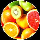Frutas myPinBadge icon
