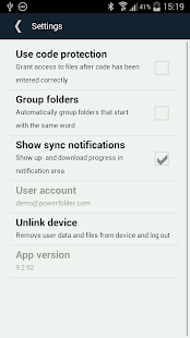 PowerFolder - screenshot thumbnail