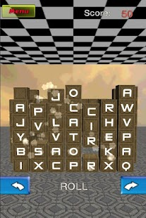 Word Cube match 3D free
