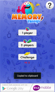 Memo Games Things & Toys- screenshot thumbnail
