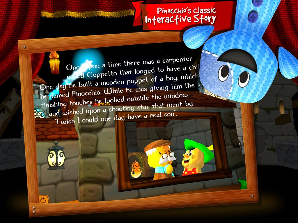 Pinocchio by Bean Bag Kids®- screenshot