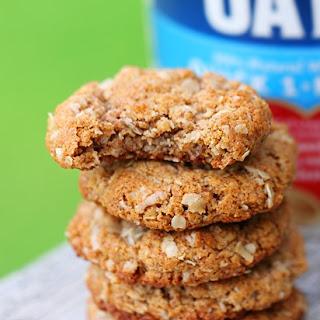 Oatmeal Almond Butter Cookies