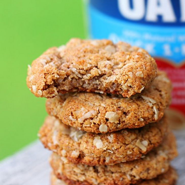Oatmeal Almond Butter Cookies