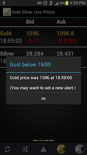 Gold Silver Live Prices Free - screenshot thumbnail