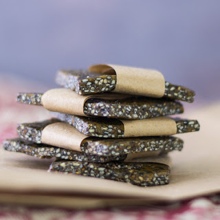 Candied Black Sesame Seed Chews