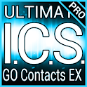Blue ICS GO Contacts EX Theme logo