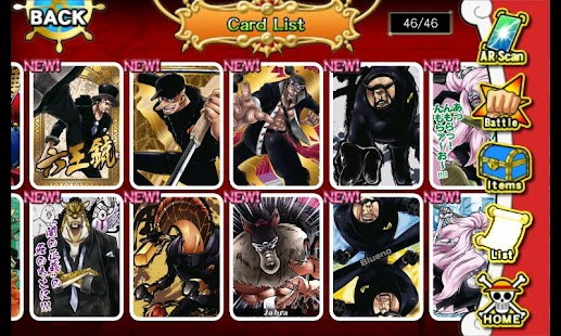 One Piece ARCarddass Formation - screenshot thumbnail
