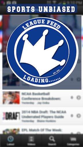 League Feed by Sports Unbiased