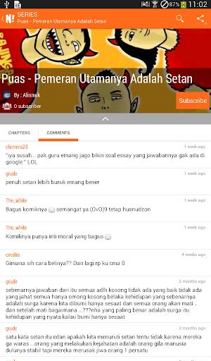 NGOMIK - Baca Komik Indonesia 1.2.5 screenshots 21