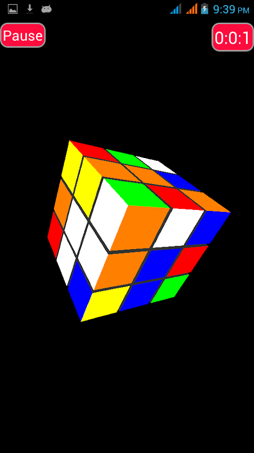Pocket Rubik 3D - Free- screenshot