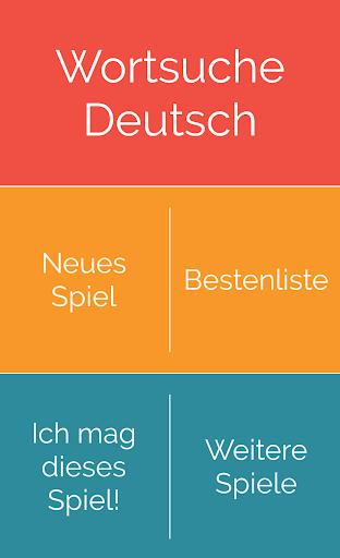 Word Search German