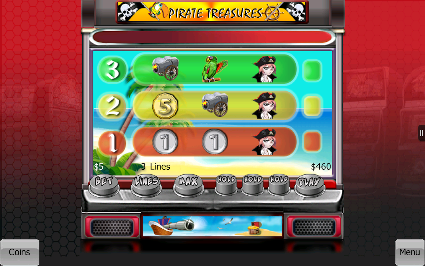 Video Slots and Poker- screenshot
