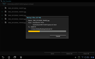 Screenshot of Wi-Fi GO! Remote
