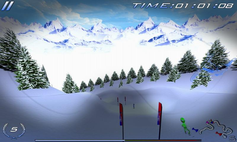 Snowboard Racing Ultimate- screenshot