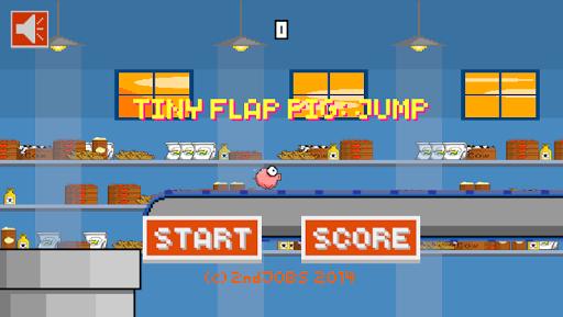 Tiny Flap Pig : Jump