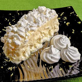 LEMON SEMIFREDDO with meringues