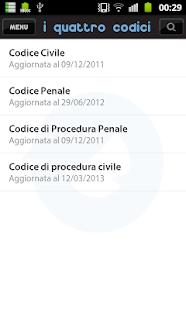 Omnialex 4Codici FREE- screenshot thumbnail