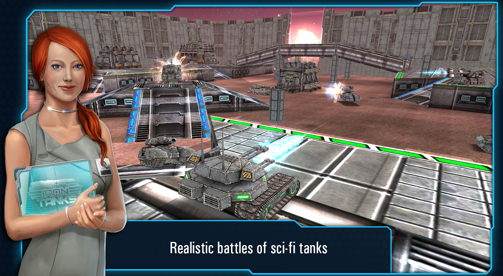 Iron Tanks - screenshot
