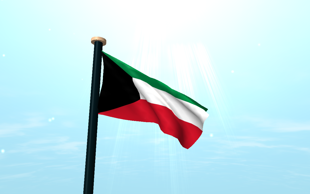 Kuwait flag 3d free wallpaper android apps on google play for Home wallpaper kuwait