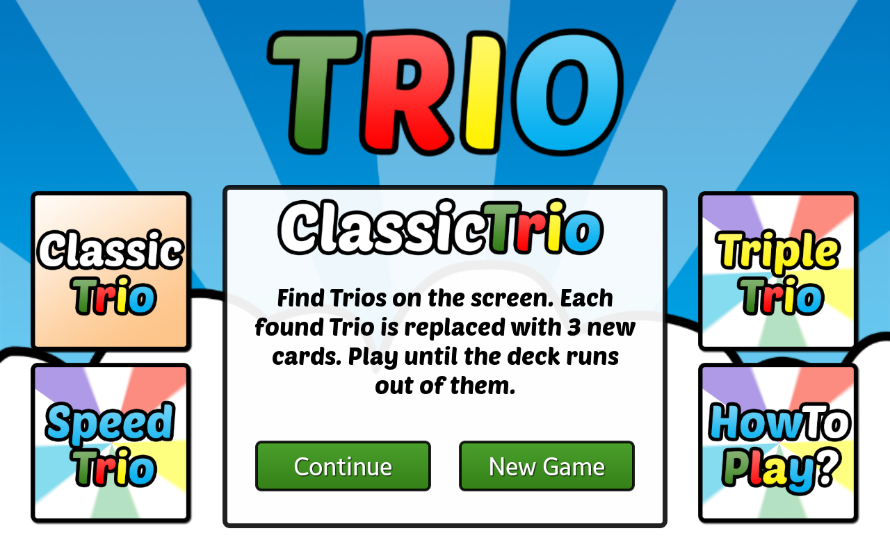 Trio - screenshot